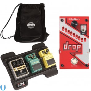 DigiTech Drop with Gator Pedal Board