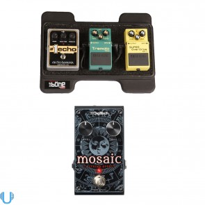 DigiTech Mosaic with Gator Pedal Board
