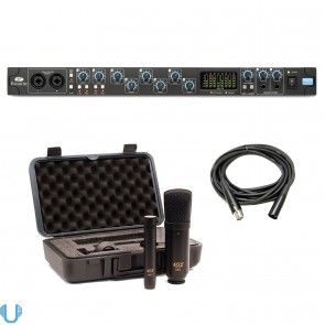 Focusrite Saffire Pro 40 with MXL 440/441