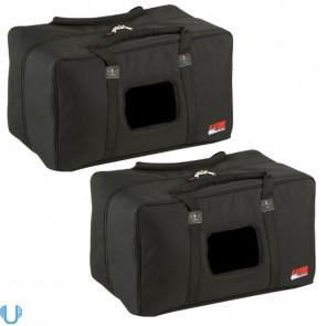 Gator GPA-450-515 Padded Nylon Speaker Bag Pair