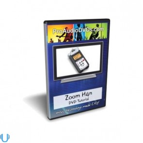 Zoom H4n Handy Portable Digital Recorder Training Tutorial DVD