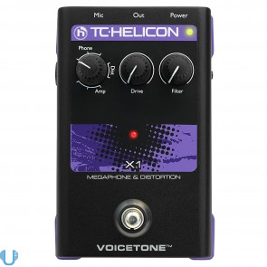 TC Helicon VoiceTone X1 Voice Megaphone and Distortion