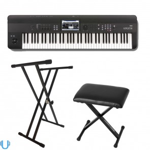 Korg Krome 73 with Stand and Bench