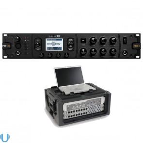 Line 6 POD HD Pro X with SKB Rack Case (4U)