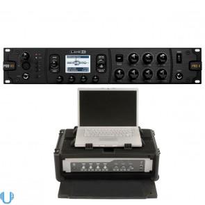 Line 6 POD HD Pro X with SKB Rack Case (2U)