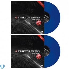 Native Instruments Traktor Scratch DJ Control Vinyl MKII Pair (Blue)
