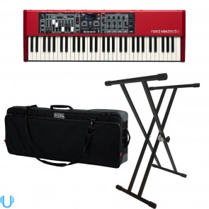 Nord Electro 5D 61 Key Semi Weighted Keyboard With Bag & Stand