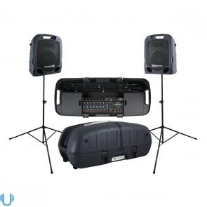 Peavey Escort 5000 All in One Portable 8 Channel PA Speaker 500 Watt System