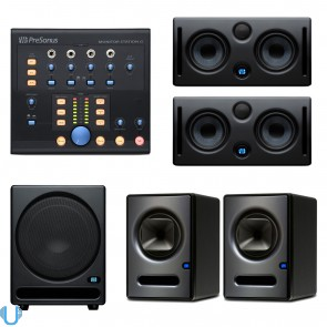 PreSonus Sceptre S6 Pair with Eris E44 Pair, Temblor T10 and Monitor Station V2