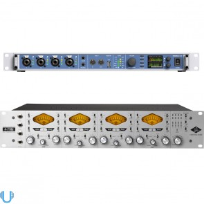 RME Fireface UFX USB & Firewire Audio Interface with 4-710d 4-Channel Tone Blending Mic Preamp