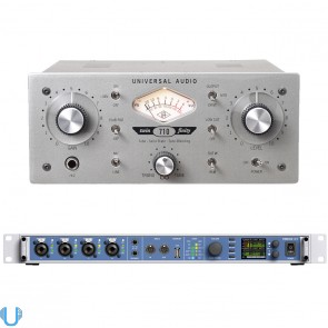 RME Fireface UFX USB & Firewire Audio Interface with 710 Twin-Finity Tone Blending Mic Preamplifier & DI Box