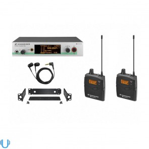 Sennheiser EW 300-2 IEM G3 Microphone Wireless Monitoring System (G Band)