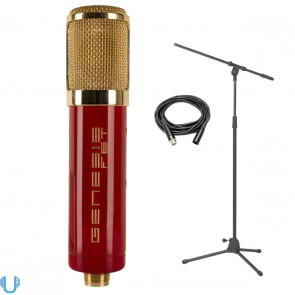 MXL Genesis FET Studio Condenser Microphone with Mic Boom Stand & XLR Cable