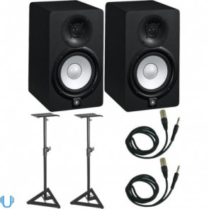 Yamaha HS5 Pair with Stands and Cables
