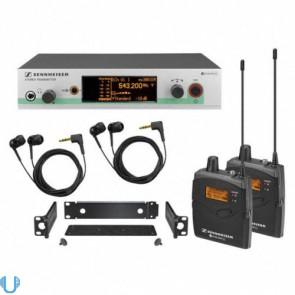 Sennheiser ew 300-2 IEM G3 In-Ear Wireless Headphone System (A Range)