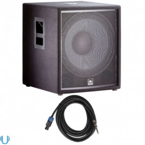 JBL JRX218S with Speakon Cable