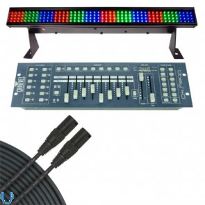 Chauvet COLORstrip Mini with Obey 40 and Cable
