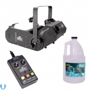 Chauvet Hurricane 1800 Fog Machine with Remote and Fluid