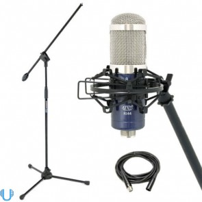 MXL R144 Ribbon Microphone with Boom Stand & XLR Cable