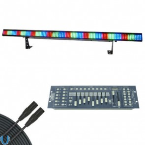 Chauvet COLORstrip with Obey 40 and DMX Cable
