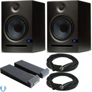 "PreSonus Eris E8 8"" Studio Monitor with Auralex Iso Pads & Cables"