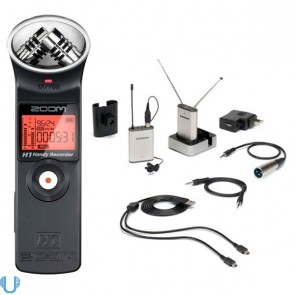 Samson Airline Micro Wireless Camera Lav Mic System N1-Band w/ Zoom H1