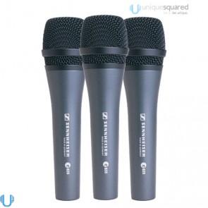 Sennheiser E835 Dynamic Vocal Microphone (3 Pack)