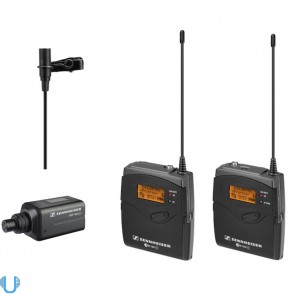 Sennheiser EW100 ENG G3 Camera Wireless Mic Kit (G Band)