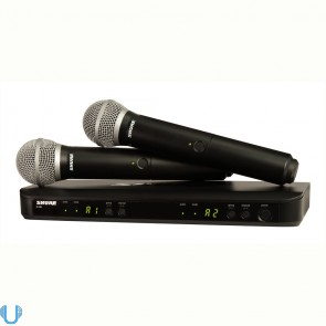 Shure BLX288/PG58 Wireless Mic - H9 Band