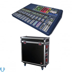 Soundcraft Si Expression 2 with Gator Road Case