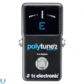 TC Electronic PolyTune 2 BlackLight Guitar Tuning Pedal
