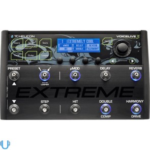 TC-Helicon Voicelive 3 Extreme Vocal, Guitar & Amp FX