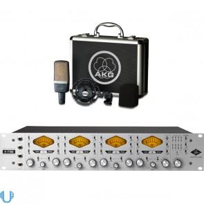 Universal Audio 4-710d - AKG C214 Bundle