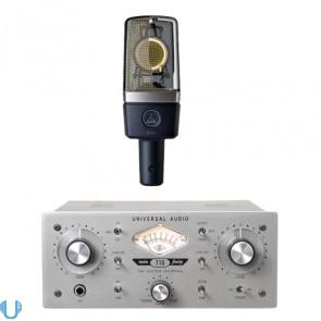 Universal Audio 710 Twin-Finity - AKG C214 Bundle