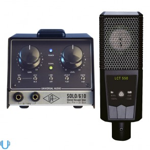 Universal Audio SOLO/610 - LCT 550 Bundle