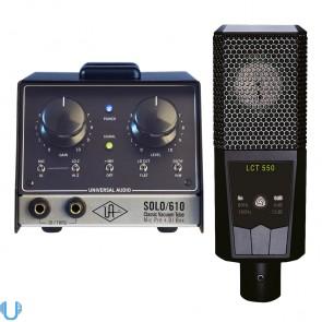 Universal Audio SOLO/610 - LCT 550 Bundle