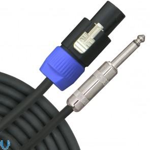 "VRT Pro Audio 1/4"" to Speakon 20 Foot Speaker Cable"